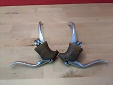 Vintage Dia-Compe Non Aero Brake Levers w/ Shimano BL-Z30 safety arms Japan J2