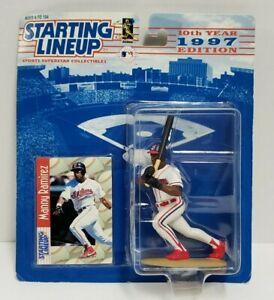 MANNY RAMIREZ - Cleveland Indians Starting Lineup SLU MLB 1997 Figure & Card NEW
