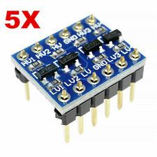5 Pcs Bi-directional Logic Level Shifter Converter Module 5V to 3.3V For Arduino