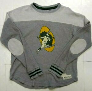 Green Bay Packers Mitchell & Ness Throwback Sweatshirt Pullover Womens L Large