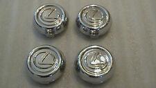 Lexus GS300 GS400 GS430 chrome wheel center cap hubcap 1998-2005 Set of 4