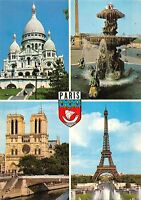 BT4071 Le sacre coeur et ses jardins Paris France