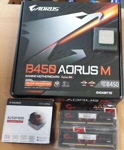 Aufrüstkit AMD Ryzen 5 3600 AM4 tray, Gigabyte MB u. 16 GB DDR4 - keine Grafik!