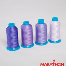 Marathon Polyester Embroidery machine thread Shade Pack  Lilac/Purple 4 x 1,000m