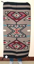 "Throw Rug / Tapestry Southwestern Thick & Durable Hand Woven Wool 32x64""  213"
