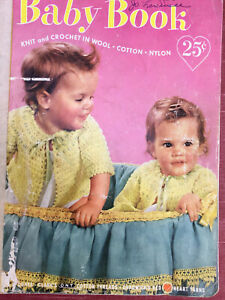 Baby Book Knitting And Crochet Vintage Patterns