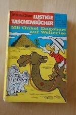 """Disney Lustige Taschenbücher LTB No. 10 """"Weltreise"""" Erstauflage von 1969"""