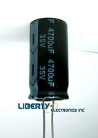 Lot of 3 (three) 4700 uF - 35V ELECTROLYTIC CAPACITOR 35 x 18mm