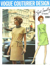 1970 Vintage VOGUE Sewing Pattern B32.5 DRESS (1636) SYBIL CONNOLLY