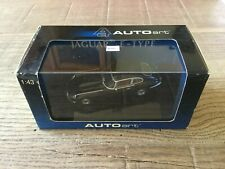 Autoart 1/43 Jaguar E-type Coupe series III V12 black n°53781, very nice