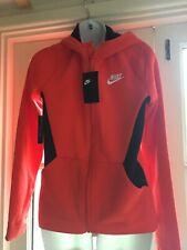 Nike boys Orange And Black Hoodie