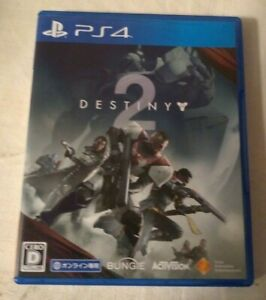 Destiny 2 (PlayStation 4, 2017) Japan Import PS4