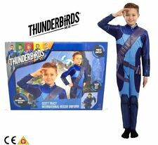Thunderbirds Are Go Scott Tracy Role Play Uniform 5-7 Years - New In Box