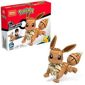 Mega Construx Pokemon Jumbo Eevee Set 830 pcs NEW DAMAGED BOX