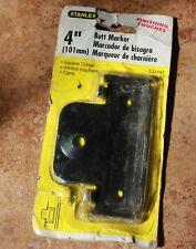 New Stanley 4 101mm Butt Marker Cd743 Door Hinge Mortise 850345