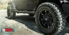 Fuel Hostage D531 18x9 Wheels 5x127 Matte Black -12offset Jeep (Set of 5)