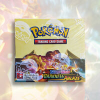 Pokemon TCG Sword & Shield: DARKNESS ABLAZE Booster Box | FACTORY SEALED