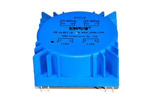 PCB welded toroidal transformer YHDC PTC15 15VA 115V*2/12V*2