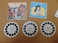 View-Master B 300 SNOW WHITE and The SEVEN DWARFS 3 Reel Set Story Booklet