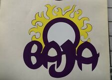 2 - Baja boat decals marine vinyl purple baja decals 5 inch sun decal set