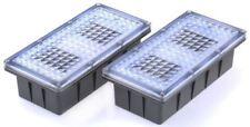 Solar Centre, Rectangular Clear Solar Powered Brick Light Groundlight, Clear, IP