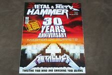 GREEK METAL HAMMER MAGAZINE  METALLICA MASTER OF PUPPETS COLLECTIBLE