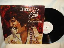Elvis Presley Christmas to Elvis From The Jordanaires  Vinyl LP Album Excellent