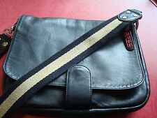 Original Bree Black Leather Crossbody Bag