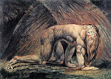 William Blake-Nabucodonosor - 24' Lienzo