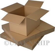 50 8x4x4 Cardboard Shipping  Boxes Corrugated Box Cartons  Expedited Shipping!