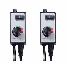 Hydrolux Variable Fan Speed Controller - 2 Pack - speedster hydroponics air fan