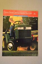 John Deere Brochure - Lawn & Garden Tractors 200 Series - 240 260 265 285 - NrMt
