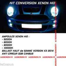 ★2014★ KIT XENON HID AMPOULE H7 MINI COOPER R52 CABRIOLET ONE I S WORKS JCW