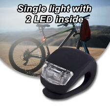 Silicona de alta calidad LED Bici Advertencia de Cola Luz Lámpara de Accesorios para bicicletas NUEVO