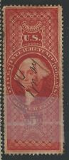 R 88c--$5 CHARTER PARTY  REVENUE  STAMP-DATED MS CANCEL--49