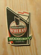 Beermat Coaster Woodforde's Wherry Norfolk Ales BM911