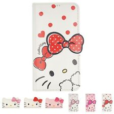 Sanrio HELLO KITTY Wallet Flip Cover Galaxy S20 Ultra S10 S9 Note20 Note10 Case