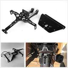 Motorcycle CNC Number Plate Mount /Light Holder For KYMCO AK550 AK 550 2017 2018