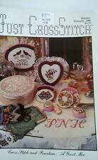 Just Cross Stitch 1986 January February Back Issue Magazine