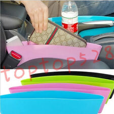 Catch Catcher Storage Organizer Box Caddy Car Seat Gap Slit Pocket Holder Case