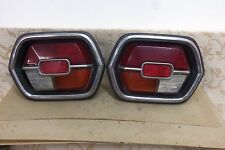PAIR USED NISSAN DATSUN CHERRY F10 F-11 100A 120A TAILLIGHT CLUSTER UNITS # 4138