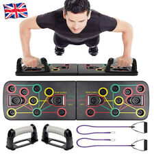 14 in 1 Push up Board Stands Fitness Workout Pull rope GYM Chest Muscle Training