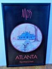 Moss Atlanta The Wren's Nest Poster Framed P. Buckley Moss signed in Print