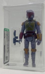 Kenner Star Wars Boba Fett HK AFA 85 loose vintage NEW CASE STYLE Mandalorian