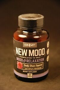 Onnit New Mood Mood & Relaxation 60 Capsules