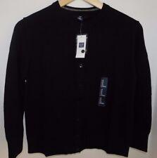 NWT Gap Women's Black Cardigan Button Down Medium Free Shipping MSRP $34.99 NEW