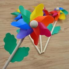 Rainbow Wind Spinner Outdoor Windmill Pinwheel Lawn Garden Decor Craft Gift