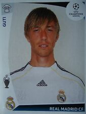 PANINI 166 Guti REAL MADRID UEFA CL 2009/10