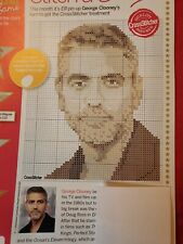 George Clooney Cross Stitch Chart only