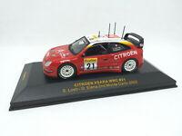 IXO 1:43 - RAM074 CITROEN XSARA WRC #21 2nd Monte Carlo 2002 Loeb - Elena
